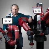Baxter robot and Sawyer robot